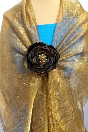 Koraliki błyszczące średnica 6 mm kolor miedziany